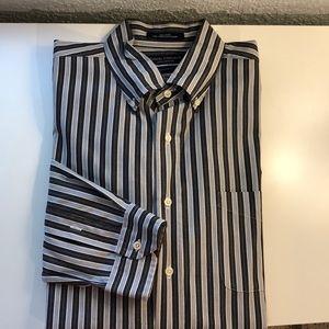 Daniel Cremieux XL Tailored Fit Stripe Shirt.